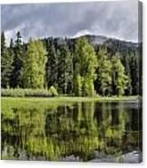 Oregon Lake Canvas Print