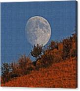 Oregon Moon Canvas Print
