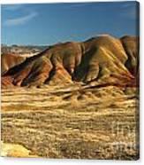 Oregon Painted Landscape Canvas Print