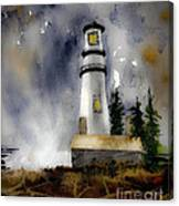 Oregon Sunshine Canvas Print