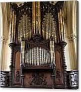Organ Chapel Royal - Dublin Castle Canvas Print