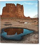 Organ Formation, Arches National Park Canvas Print