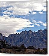 Organ Mountain Landscape Canvas Print