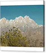 Organ Mountain Wilderness Canvas Print