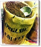Organic Coffee Canvas Print