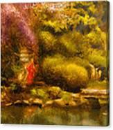 Orient - The Japanese Garden Canvas Print