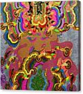 Oriental Leaf Canvas Print