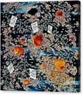 Oriental Moonlight Canvas Print
