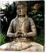 Oriental Statue Canvas Print