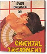 Oriental Treatment Canvas Print