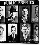 Original Gangsters - Public Enemies Canvas Print