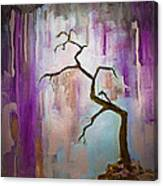 Original Painting Expressionist Contemporary Tree Art Canvas Print