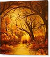 Hot Forest- Original Sold- Buy Giclee Print Nr 29 Of Limited Edition Of 40 Prints  Canvas Print