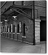 Oriole Park Box Office Bw Canvas Print