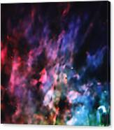 Orion Nebula Rainbow Smoke Canvas Print