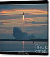Orion Test Flight Canvas Print