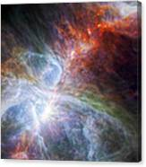 Orion's Rainbow Of Infrared Light Canvas Print