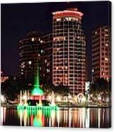 Orlando Panorama Canvas Print
