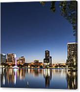 Orlando Skyline Canvas Print