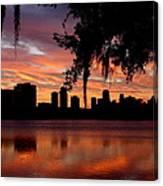 Orlando Sunrise Canvas Print