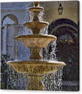 Ormond Water Fountain Canvas Print