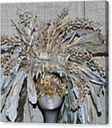 Ornamental Mask Canvas Print