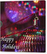 Ornaments-2054-happyholidays Canvas Print