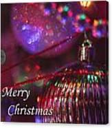 Ornaments-2054-merrychristmas Canvas Print