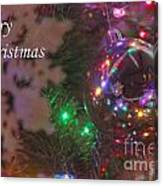 Ornaments-2096-merrychristmas Canvas Print