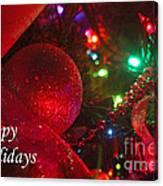 Ornaments-2107-happyholidays Canvas Print