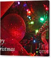Ornaments-2107-merrychristmas Canvas Print