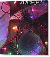 Ornaments-2136-happyholidays Canvas Print