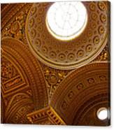 Ornate Ceiling Of Versailles Canvas Print
