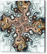 Ornate Cross Canvas Print