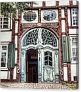 Ornate German Door Canvas Print