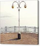 Ornate Lamp Post Canvas Print