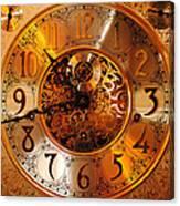 Ornate Timekeeper Canvas Print
