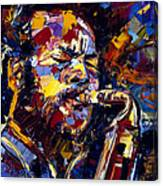 Ornette Coleman Jazz Faces Series Canvas Print