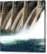 Oroville Dam Unleashed Canvas Print