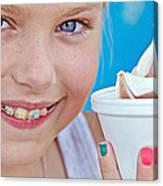 Orthodontic Smile Canvas Print
