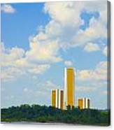 Oru River Skyline II Canvas Print