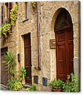 Orvieto Homes Canvas Print