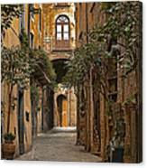 Orvieto Side Street Canvas Print