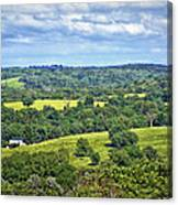 Osage County Lookout Canvas Print