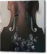 Oscar Peterson Trio Canvas Print