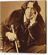 Oscar Wilde 1882 Canvas Print