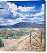 Osceola Nevada Ghost Town Canvas Print