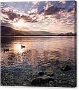 Osoyoos Lake Sunset Canvas Print