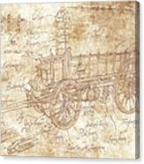 Ossewa Canvas Print