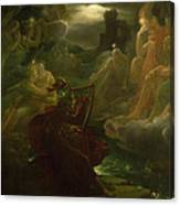 Ossian Conjuring Up The Spirits  Canvas Print